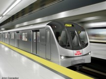 Toronto Gets New Subway Trains (ESL)