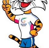 Shera is the mascot for the 2010 Commonwealth Games