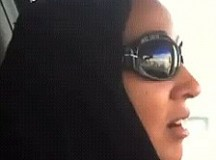 Saudi Woman Protests Ban On Women Driving