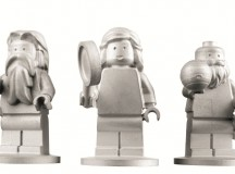 LEGO Figures In Space