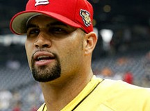 Baseball's Pujols Hits Three Homers In World Series Game