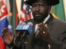 Salva Kiir Mayardit President of South Sudan; Photo: Jenny Rockett