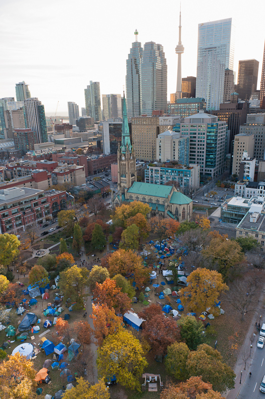 Occupy Toronto tent city & Occupy Toronto Staying Put - For Now