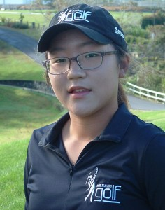 Fourteen year old New Zealander, Lydia Ko.