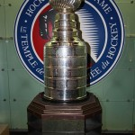 The Stanley Cup in the Hockey Hall of Fame