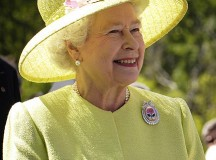 Queen Elizabeth II at a visit to NASA's Goddard Space Flight Center, 2007. Image: NASA/Bill Ingalls