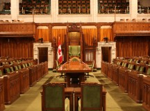 The Canadian House of Commons. Image by Sam