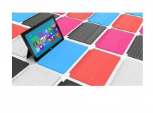 Surface tablet with optional keyboards. Image: Microsoft.