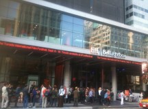 Movie-lovers lined up at the TIFF Bell Lightbox theatre on the last night of