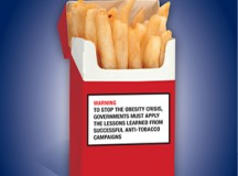 This is one example of the kind of warning the Ontario Medical Assocation would like to see on unhealthy foods.