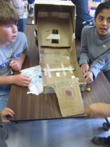 "(Grade 6: Fundraising) Spirit Of ""Caine's Arcade"" Felt Around The World"