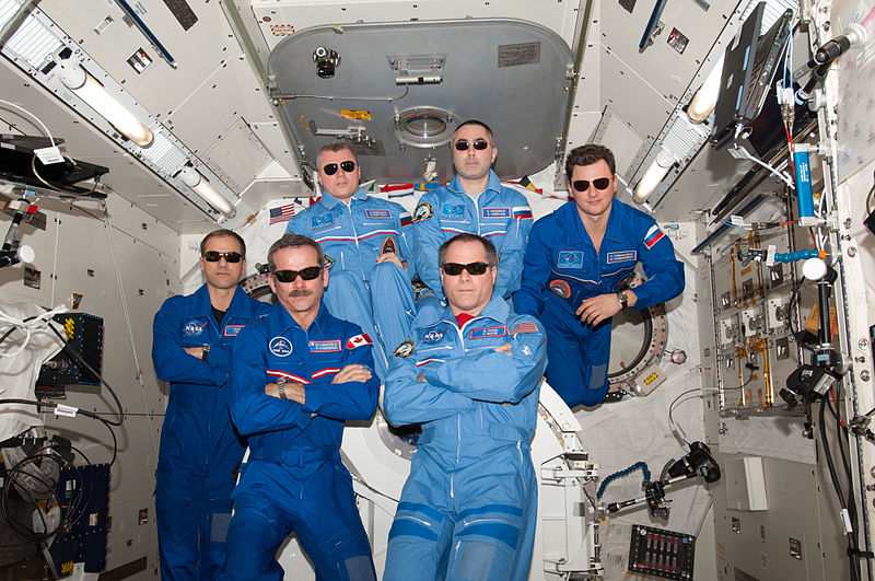 astronaut crews of the international space station role - photo #18