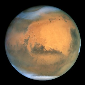 NASA's Hubble Space Telescope took this picture of Mars on June 26, 2001, when Mars was approximately 68 million kilometers from Earth. This is the closest Mars has  been to Earth since 1988. Image: NASA and The Hubble Heritage Team