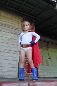 Power Girl; photo by Patti Marcotte