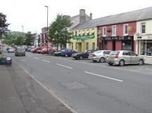 A street image of Belcoo, Ireland in 2007. Image: Kenneth Allen