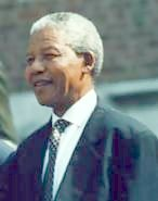 Nelson Mandela at the Independence Hall in Philadelphia, PA, July 4 1993. Image: White House Photograph Office, Clinton Administration