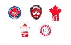 Which Logo Will Be Chosen For Canada's Sesquicentennial (150th)?