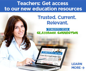 Toronto Star Classroom Connections Ad4