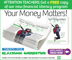 TD Classroom Connection ad