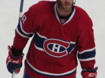 Montreal Canadiens player Brandon Prust, 2013; Image: Carrser via Wikimedia.