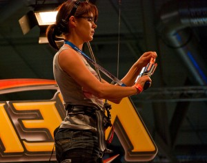 At The Nerf Games women and men take part in the competition. Image: Sergey Galyonkin
