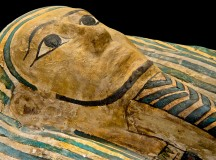 Ancient Egyptian Sarcophagus; Image: Buffalo Museum of Science