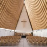 Cardboard Cathedral, 2013, Christchurch, New Zealand.  Image: Stephen Goodenough