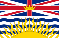 The Flag of British Columbia. Image: Wikimedia Commons