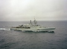 The Canadian destroyer HMCS Annapolis. Image: USN