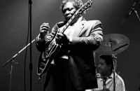 B.B. King with Lucille. Image: Stoned59