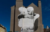A large mural by Joe Casin in support of marriage equality adorns the side of a building in Dublin, Ireland: William Murphy