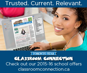 Toronto Star Classroom Connections Ad6
