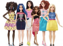Barbie® has a new look and a different shape. Image: Mattel