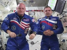 Scott Kelly and Mikhail Kornienko. Image: NASA
