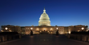 The US Capitol building is where the government meets to discuss strategy and policy. Image: Martin Falbisoner