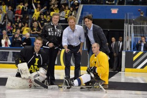 Invictus sledge hockey