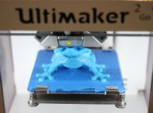 The Ultimaker 3D Printer, which is different than the one used on the ISS. Image: Maurizio Pesce