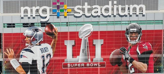 Super Bowl LI was held at NRG Stadium in Houston. Image: U.S. Customs and Border Protection