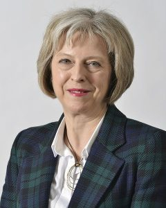 Theresa May. Image: UK Home Office