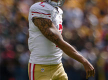 Colin Kaepernick. Image: Mike Morbeck