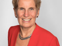 Current Premier, Kathleen Wynne. Image: Ontario Liberal Party Website