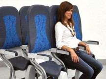 Saddle seats - new airline seats