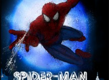 Poster for Spiderman, the musical