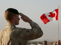 Canadian troops in Afghanistan; image - Canadian Press