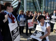 Air Canada strike; Matthew Sherwood for the National Post