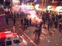 Vancouver riot 2011
