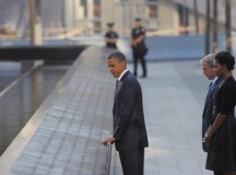 Barack Obama at tenth anniversary of 9/11; image: MANDEL NGAN/AFP/Getty Images