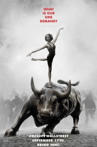 Occupy Wall Street Poster from Adbusters