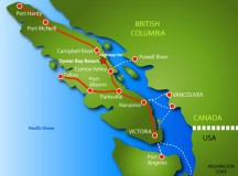 Vancouver Island map; image: Birds of a Feather B&B
