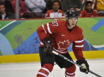 Sidney Crosby in the Team Canada game against Norway at the 2010 Winter Olympics.